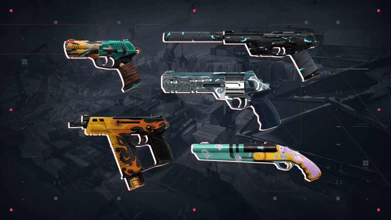 The best pistol skins in Valorant you can unlock for FREE