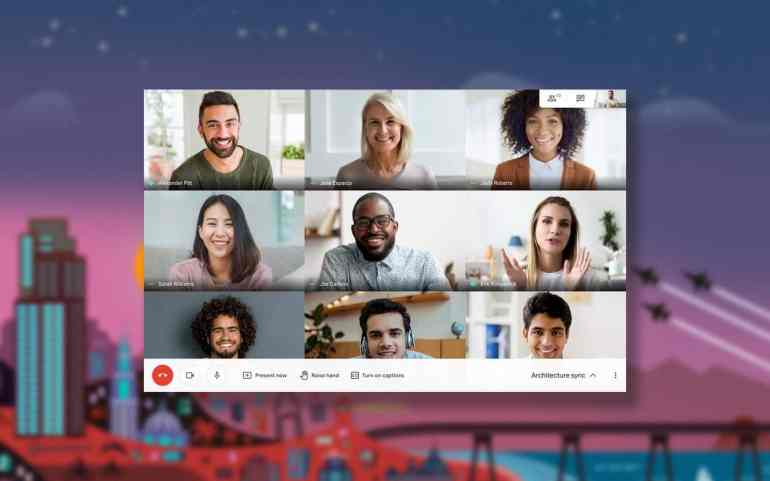 Tiled View: How to see everyone in Google Meet