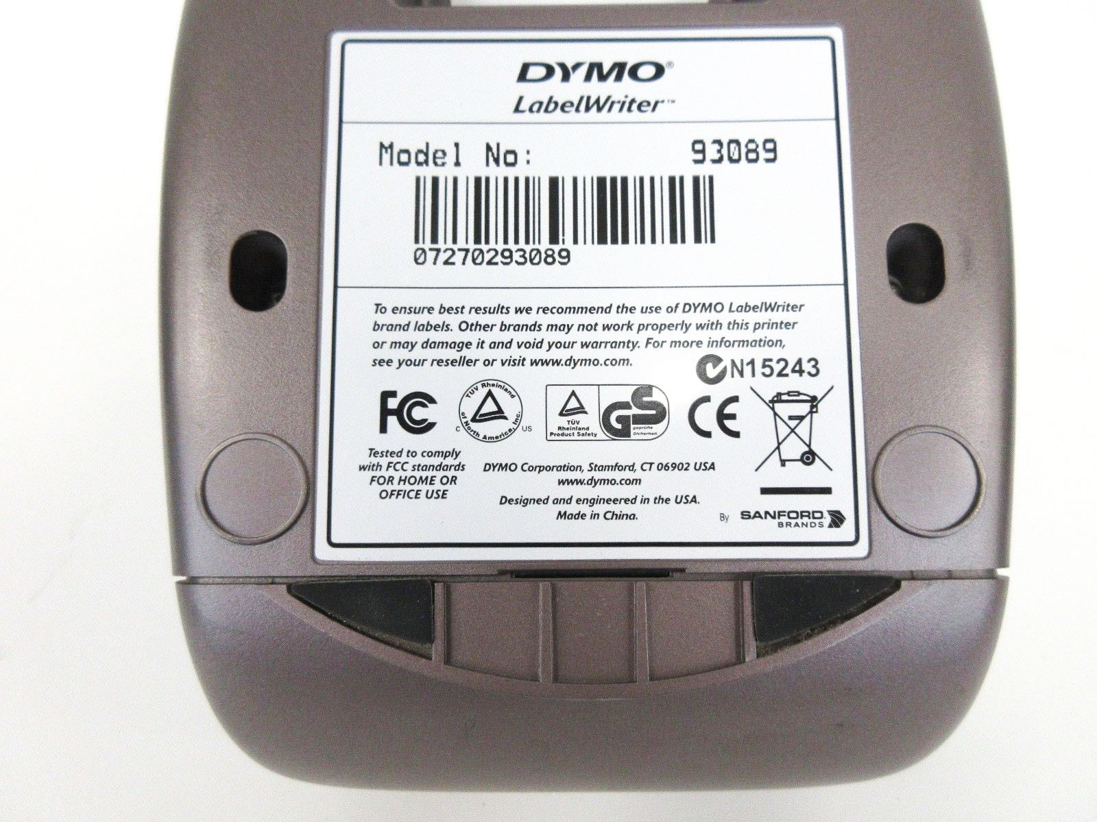 DYMO LabelWriter 400 Thermal Label Printer (93089)