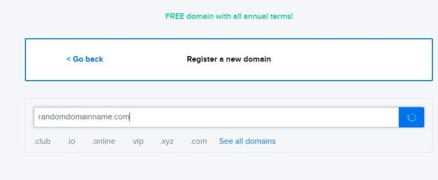 new domain Using DreamHost to Set up WordPress Blogs and Websites