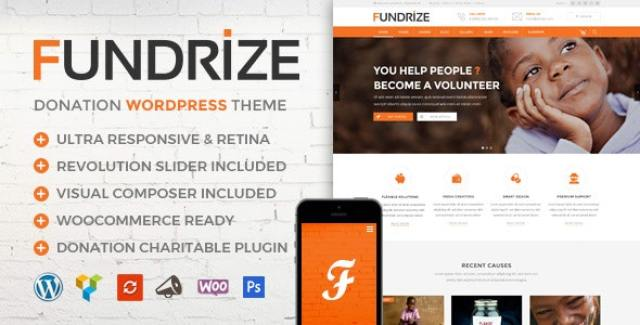 Fundrize theme
