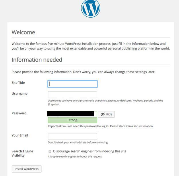 wordpress 1 Using DreamHost to Set up WordPress Blogs and Websites