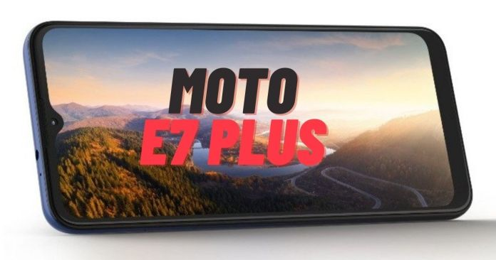 Moto E7 Plus With Dual Rear Cameras, 5,000mAh Battery Launched in India