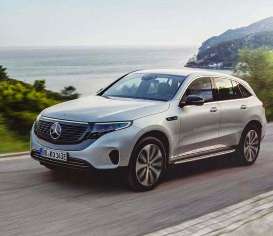 Mercedes-Benz EQC Electric SUV India Launch On October 8
