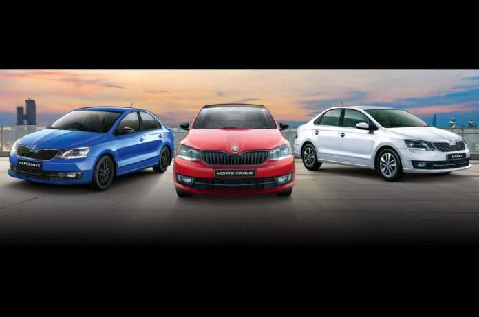 Skoda Rapid automatic launch on September 17