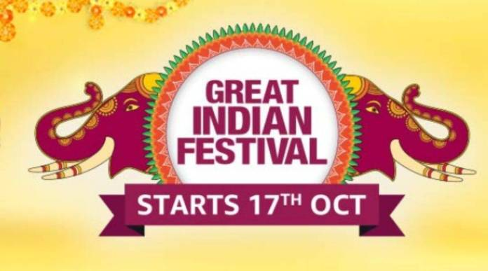 Amazon Great Indian Festival 2020 Sale to Kick Off October 17