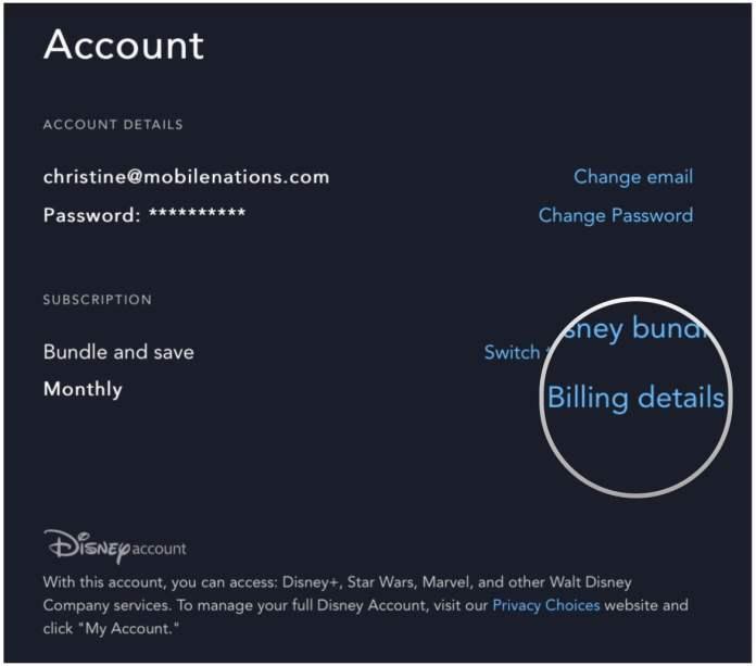how to cancel Disney Plus