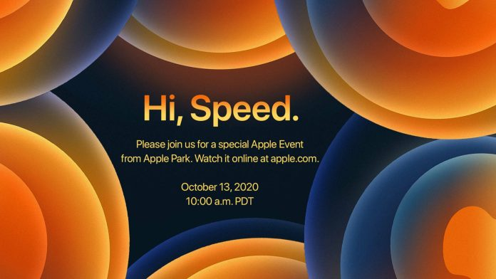 """Apple has announced a """"Hi Speed"""" event for October 13 at 1PM Eastern"""
