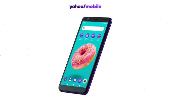 Verizon's Yahoo Mobile is launching its first smartphone for $50