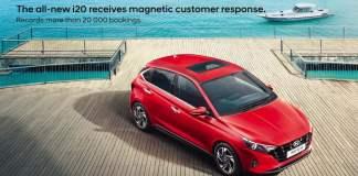 2020 Hyundai i20 bookings cross 20000 mark in 20 days
