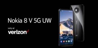 Nokia 8 V 5G UW has been launched by Finland's HMD Global