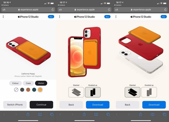 Apple Launches iPhone 12 Studio to Let You Virtually Try Out MagSafe Accessory Combinations
