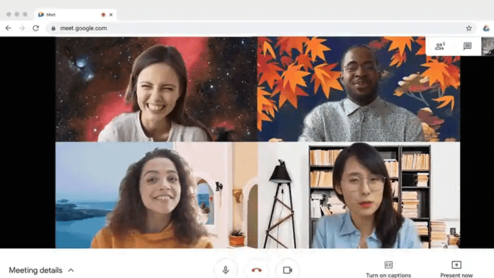 Google Meet Rolling Out Custom Background Feature for Desktop Users