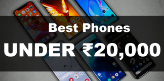 Best Mobile Phones You Can Buy Under Rs. 20000 In India