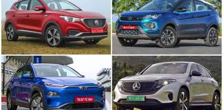 Every electric car SUV currently on sale in India