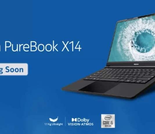 Nokia PureBook X14 Laptop With Intel Core i5 Processor Teased on Flipkart