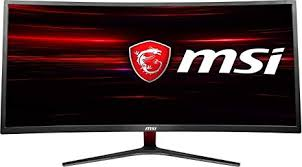 MSI Non-Glare Ultrawide Curved Gaming Monitor
