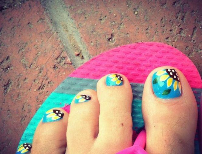 Beautiful Summer Toe Nail Designs