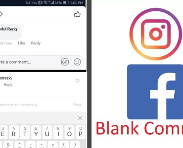 comment nothing on instagram facebook