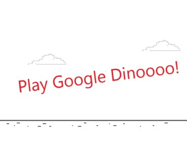 how to play google dinosaur game