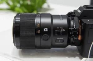 Sony FE 90mm lens
