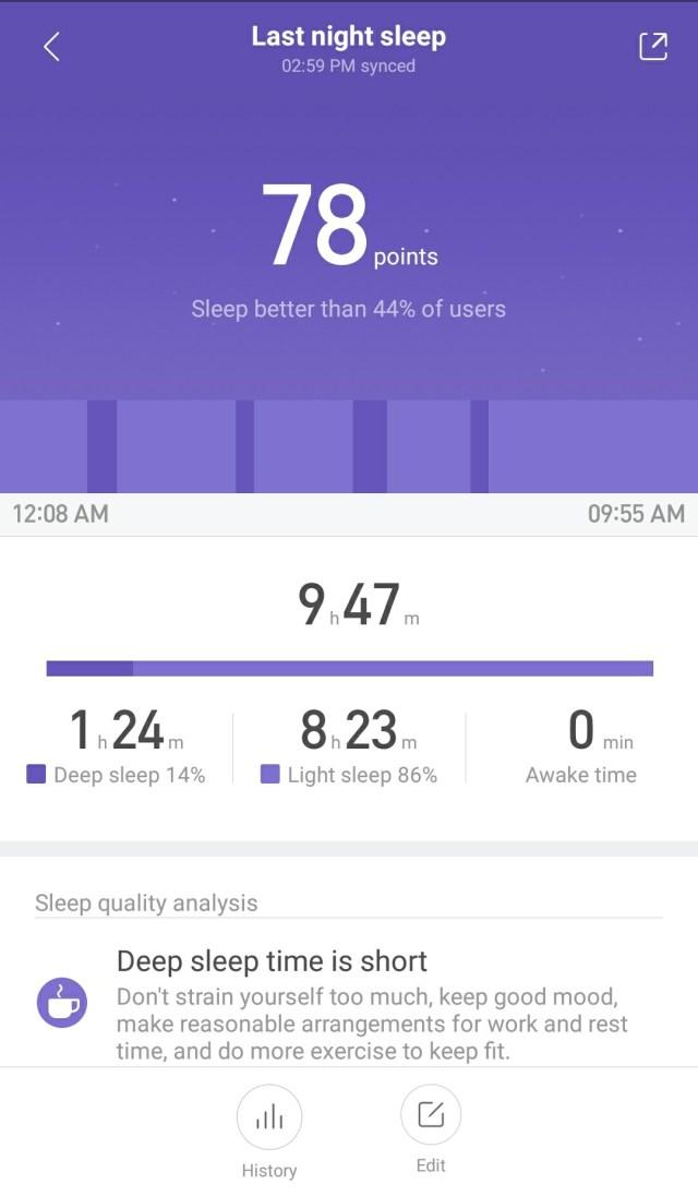 Amazfit Bip Sleep