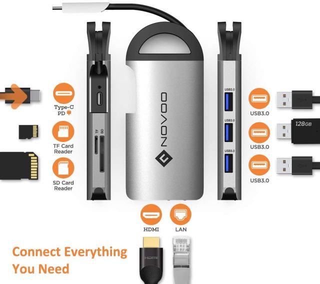 NOVOO USB C Hub 012