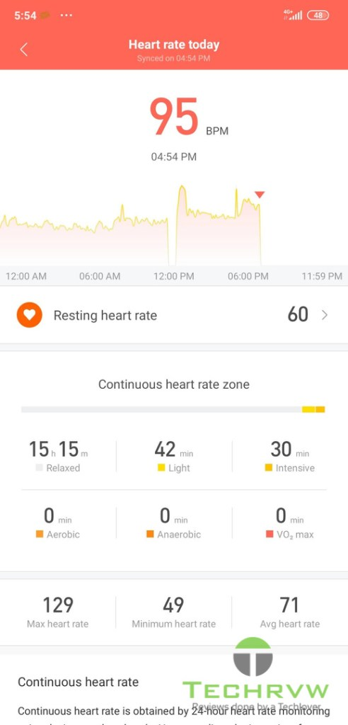 Xiaomi Mi Band 5 Software 102