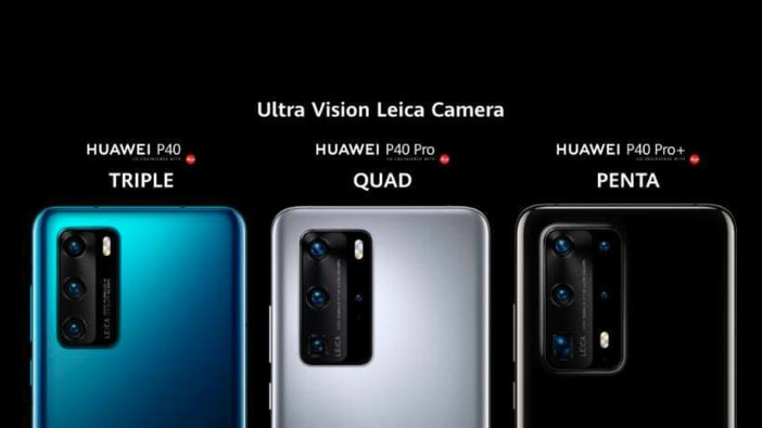 Huawei P40 Series: Specifications