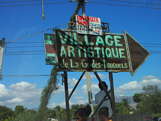 Sustainable Income Through Art #Bloggers4Haiti