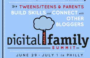 Digital Family Summit for Tweens, Teens, and Parents (w. family conference pass giveaway)