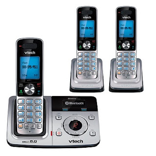 VTech DS6321-3: Answer Your Cell Phone Anywhere in the House. One Less Reason to Keep Your Landline. (w. giveaway)