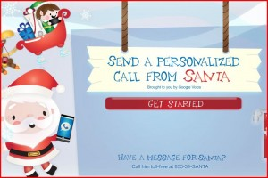 Google Voice Brings You Free Personalized Calls From Santa