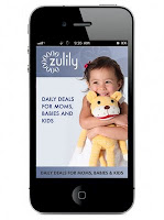 Zulily Mobile iPhone App for Daily Deals on the Go