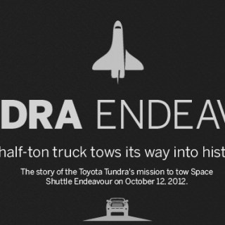 Toyota Tundra to Tow Space Shuttle Endeavor to CA Science Center 10/13
