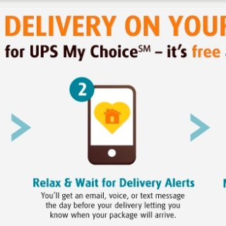 UPS My Choice Review & #HassleFreeHolidays Twitter Party (11.14)