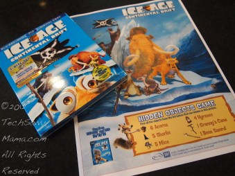 Ice Age Hidden Objects movie scavenger hunt