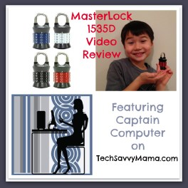 Master Lock 1535D TechSavvyMama.com review