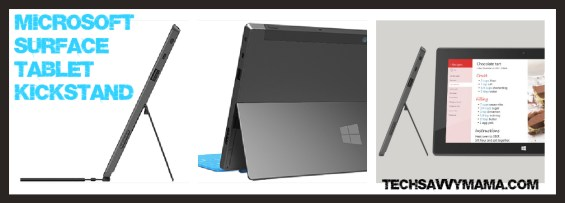 Microsoft Surface Tablet Kickstand TechSavvyMama