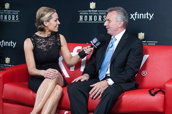 Joe Montana, former San Francisco 49er quarterback. Photo courtesy of Xfinity TV.
