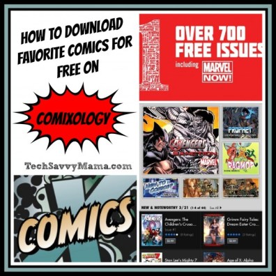 How to Download Free Comics TechSavvyMama.com