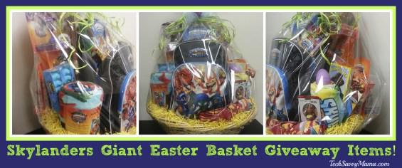 Skylanders Easter Basket Giveaway TechSavvyMama.com