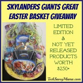 Skylanders Giants Easter Basket Giveaway TechSavvyMama.com