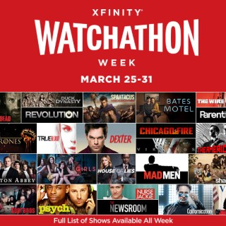 Xfinity Watchathon Week: All Access Pass to Watch Hottest Shows Free from March 25-31