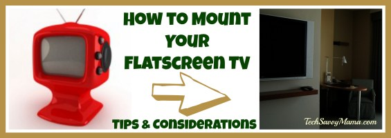 How to Mount Flat Screen TVs