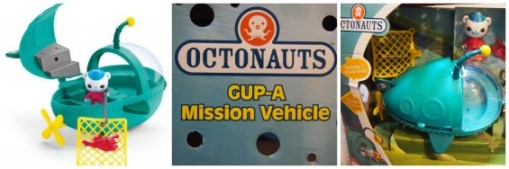 Octonauts Gup-a-Mission Vehicle TechSavvyMama.com