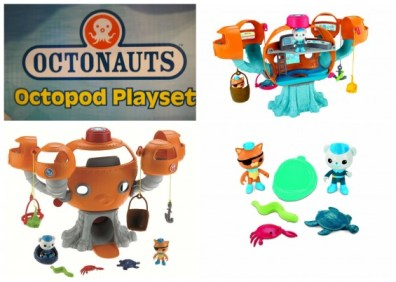 Octonauts Octopod Playset TechSavvyMama.com