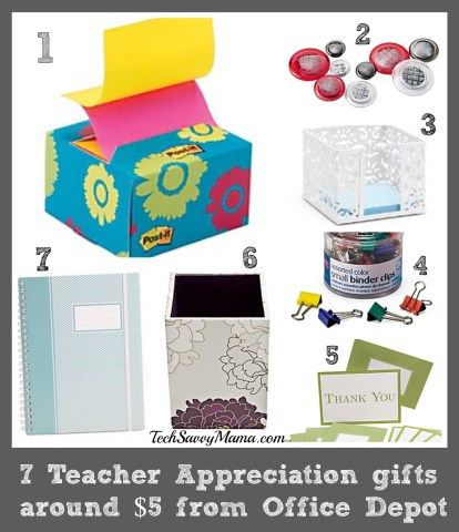 Teacher Appreciation Gifts Around $5