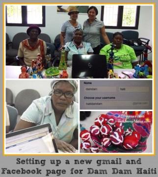 Technology Training with DamDam Haiti #Bloggers4Haiti