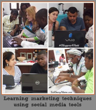 Technology Training with Haitian Artisans 2 #Bloggers4Haiti